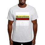 Question Television Ash Grey T-Shirt