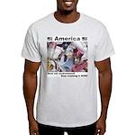Stop Trashing Ash Grey T-Shirt