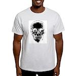 Big Skull Ash Grey T-Shirt