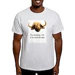 Catching Attitude Ash Grey T-Shirt