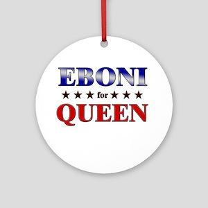 EBONI for queen Ornament (Round)