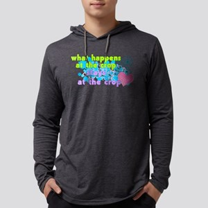 What Happens At The Crop Long Sleeve T-Shirt
