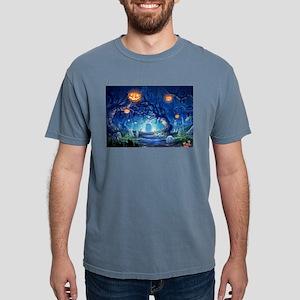 Halloween Night In Cemetery T-Shirt