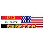 Iraq Bumper Sticker