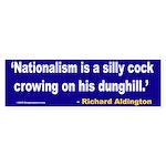 Nationalism Bumper Sticker