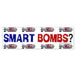 Smart Bombs Bumper Sticker