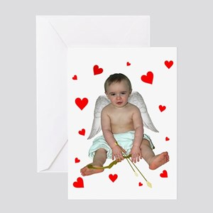 Little Cupid Greeting Card