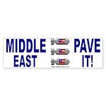 Middle East Bumper Sticker
