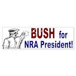 NRA Bumper Sticker