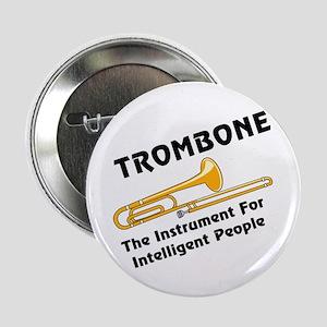 """Trombone Genius 2.25"""" Button"""