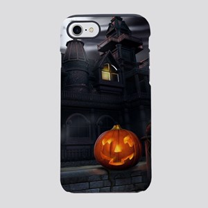 Halloween Pumpkin And Haunte iPhone 8/7 Tough Case