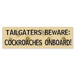 Cockroach Bumper Sticker