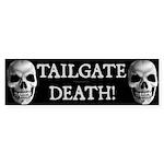 Tailgate Death Bumper Sticker