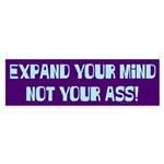 Expand Your Mind Bumper Sticker