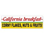 California Breakfast Bumper Sticker