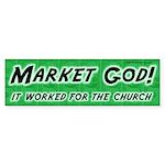 Market God Bumper Sticker