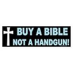 Bible Handgun Bumper Sticker