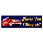 Havin' Fun Bumper Sticker