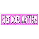 Size 2 Bumper Sticker