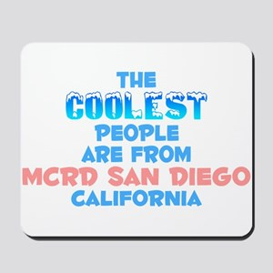 Coolest: MCRD San Diego, CA Mousepad