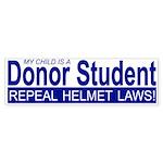 Donor Student Bumper Sticker
