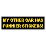 Funnier Stickers Bumper Sticker