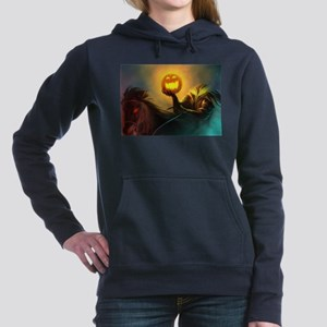 Rider With Halloween Pumpkin Head Jumpe Sweatshirt