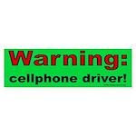 Cellphone Bumper Sticker