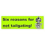 Six Reasons Bumper Sticker