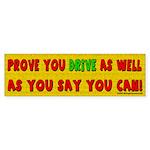 Prove Bumper Sticker