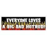 Hotrod Bumper Sticker
