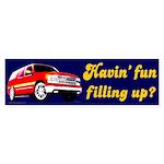 Havin' Fun Bumper Sticker