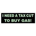Tax Cut Bumper Sticker