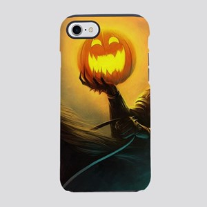 Rider With Halloween Pumpkin iPhone 8/7 Tough Case