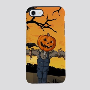 Halloween Scarecrow With Pum iPhone 8/7 Tough Case