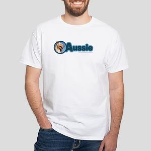 Aussie White T-Shirt