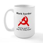 Work Sickle Large Mug