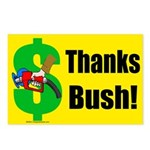 Thanks Bush Postcards (Package of 8)