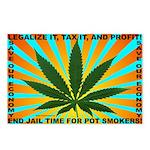 Legalize Pot Postcards (Package of 8)
