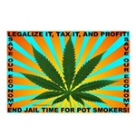 Legalize Pot Postcards (Package of 8)