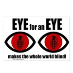 EYE for an EYE Postcards (Package of 8)