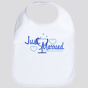 Just Married 1 Bib