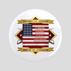 2nd Ohio Volunteer Infantry Button
