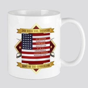 2nd Ohio Volunteer Infantry Mugs