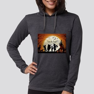 Halloween Trick Or Treat Kids Long Sleeve T-Shirt