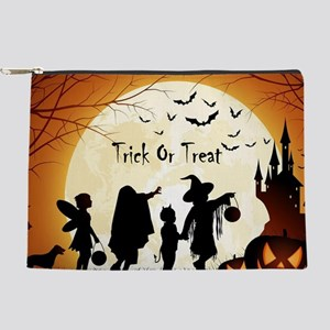 Halloween Trick Or Treat Kids Makeup Bag