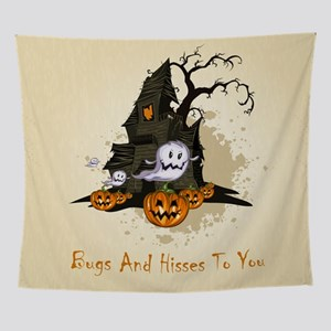 Halloween Haunting Wall Tapestry