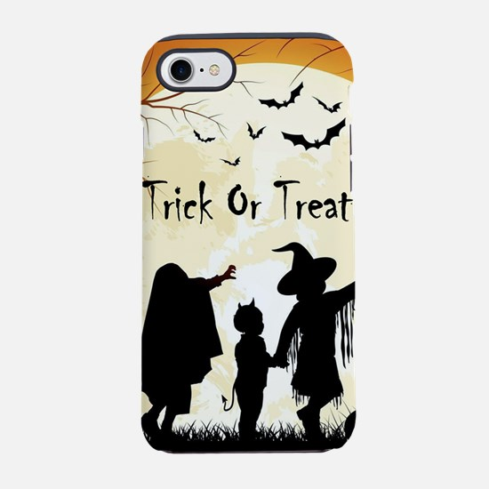 Halloween Trick Or Treat Kid iPhone 8/7 Tough Case