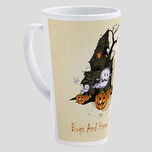 Halloween Haunting 17 oz Latte Mug