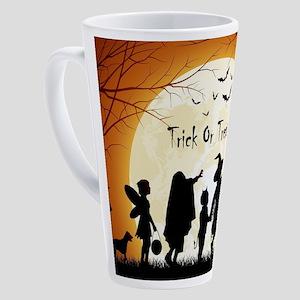 Halloween Trick Or Treat Kids 17 oz Latte Mug